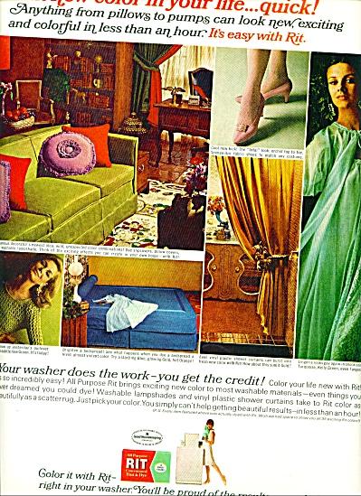 1966 -  RIT Tint & dye ad Fashion Models (Image1)