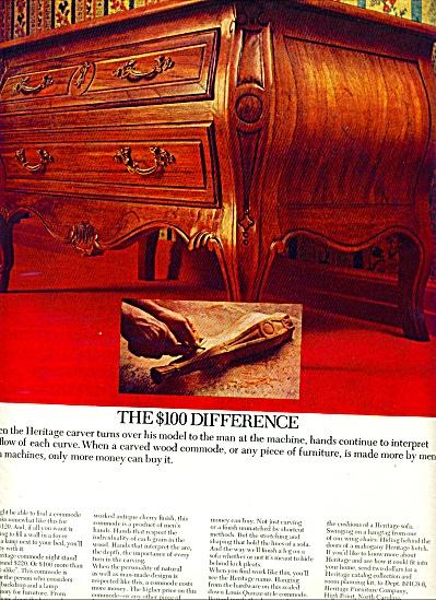 1966 -  Heritage furniture ad (Image1)