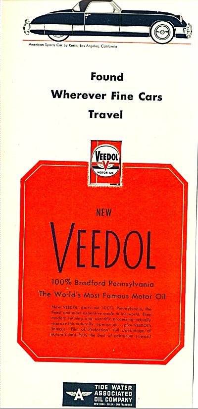 1950 -  Veedol motor oil (Image1)