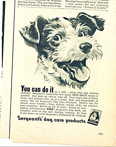 1950 -  Sergeant's dog care products (Image1)