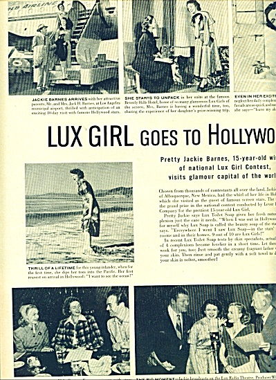 1950 -  Lux Girl goes to Hollywood (Image1)