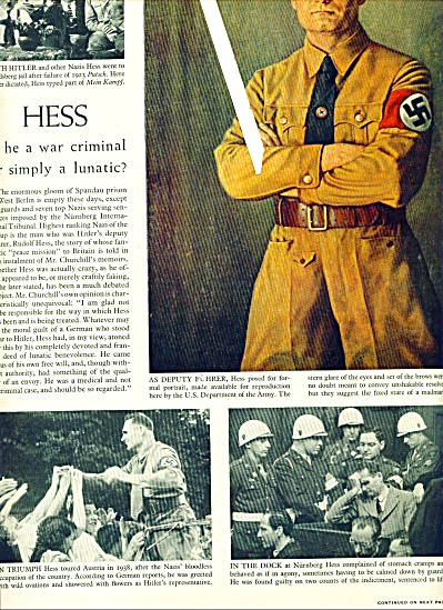 1950 -  Rudolf HESS - german leader (Image1)