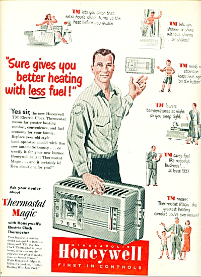 1950 -  Honeywell controls ad (Image1)