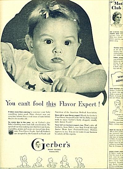 1949 - Gerber's baby food (Image1)