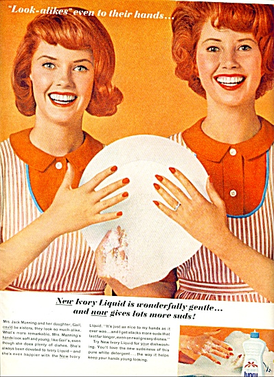 1962 -  Ivory liquid soap ad (Image1)