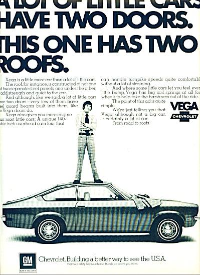 1972 -  Chevrolet Vega auto AD (Image1)