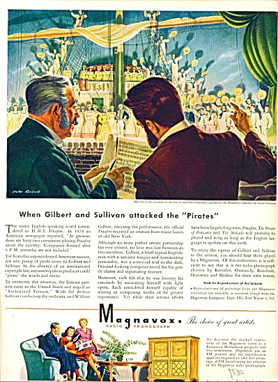 1944 - Magnavox radio phonograph ad (Image1)