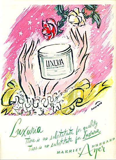 1944 - Harriet Hubbard Ayer Luxuria ad (Image1)