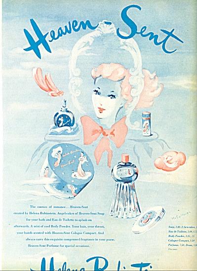 1944 -  Helena Rubinstein Heaven Sent ad (Image1)