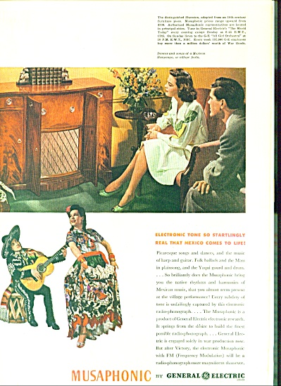 1944 -  Musaphonic by general Electric (Image1)