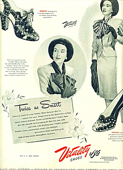 1945 - Vitality Shoes Ad