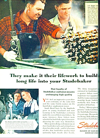 1946 - Studebaker company ad (Image1)