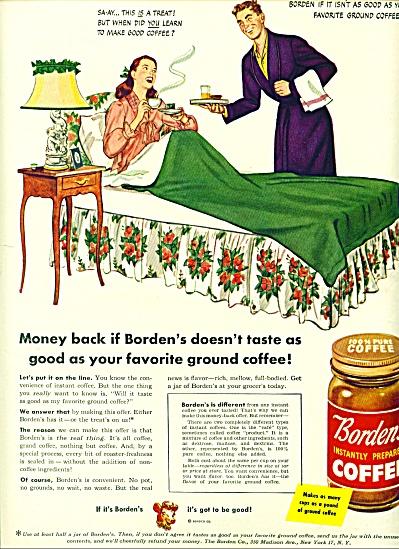 1946 -  Borden's instantly prepared coffee (Image1)