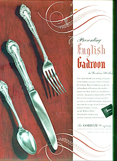 1939 - The Gorham Company ad (Image1)
