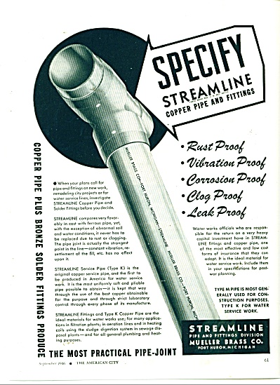 Streamline pipe and fittings co. 1946 (Image1)