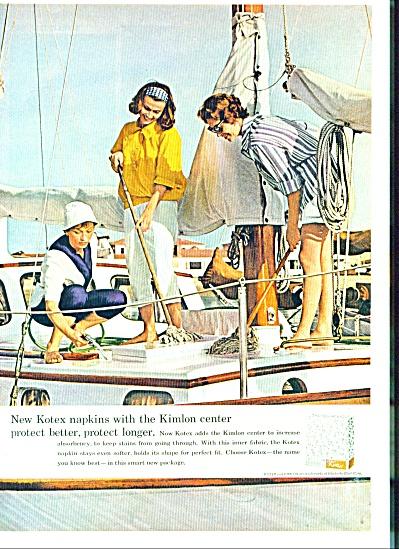 1958 -  Kotex napkins ad (Image1)
