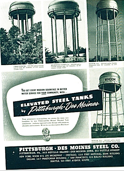 Pittsburgh - Des Moines Steel Co., ad 1946 (Image1)