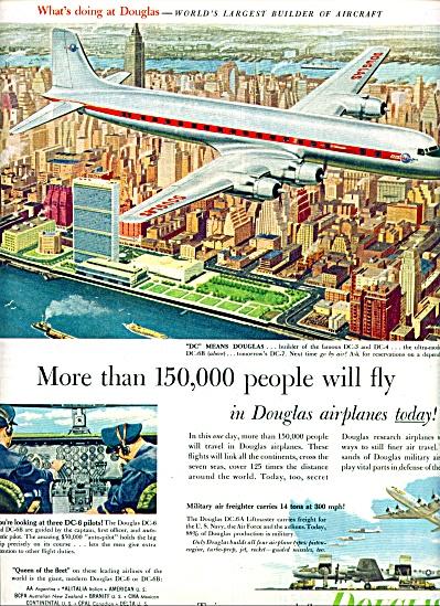 1953 -  Douglas airplanes ad (Image1)