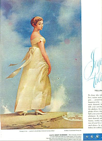 1959 -  DeBeers diamonds ad (Image1)