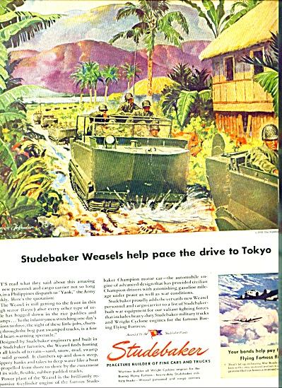 1945 -  Studebaker weasels ad (Image1)