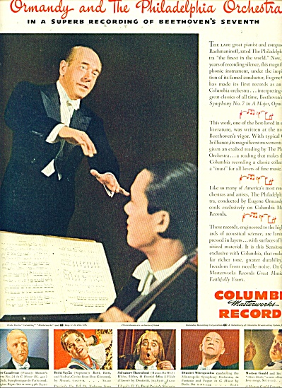 1945 -  Columbia records  ad (Image1)