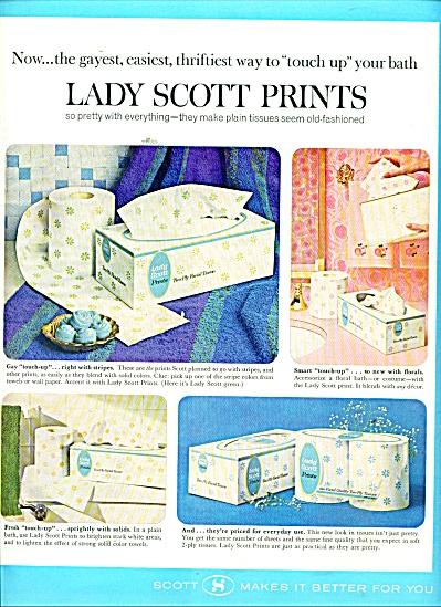 Lady Scott prints ad 1965 (Image1)