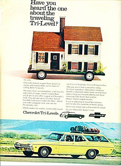 1968 Chevrolet tri-level ad (Image1)