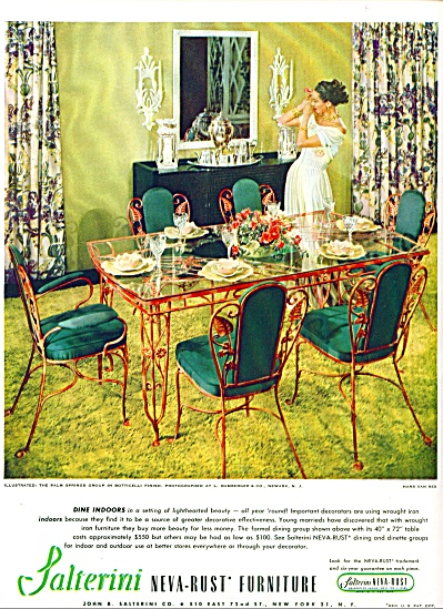 1947 -  Salterini Neva-rust furniture ad (Image1)