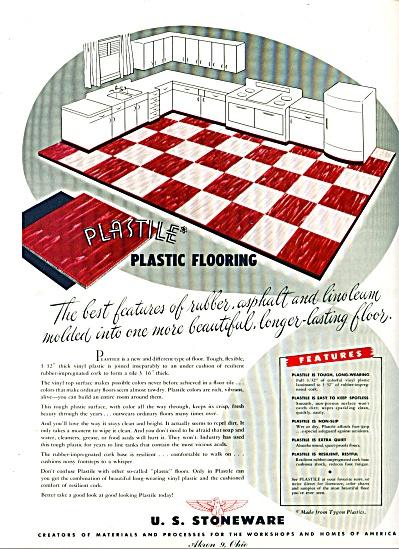 1947 -  U. S. Stoneware ad (Image1)