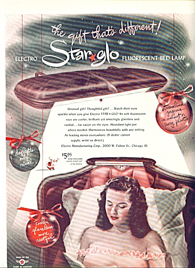 1947 -  Star glo fluorescent bed lamp (Image1)