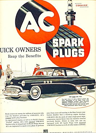1950 - A C  Spark Plugs ad (Image1)