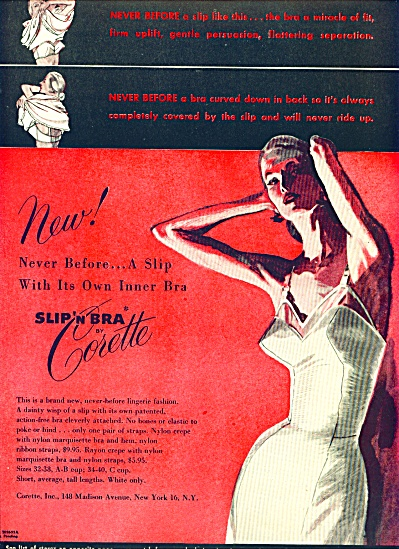 1950 -  Slip n bra by Corette (Image1)