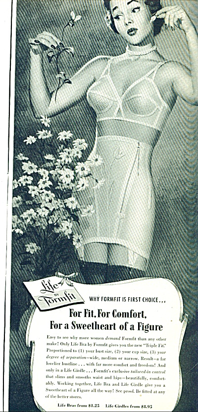 1950 - Life By Formfit Bras