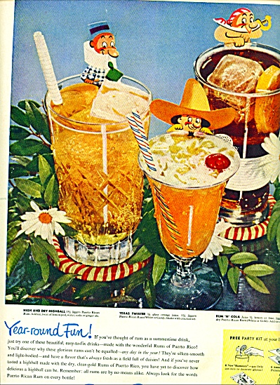 1950 -  Rums of Puerto Rico ad (Image1)