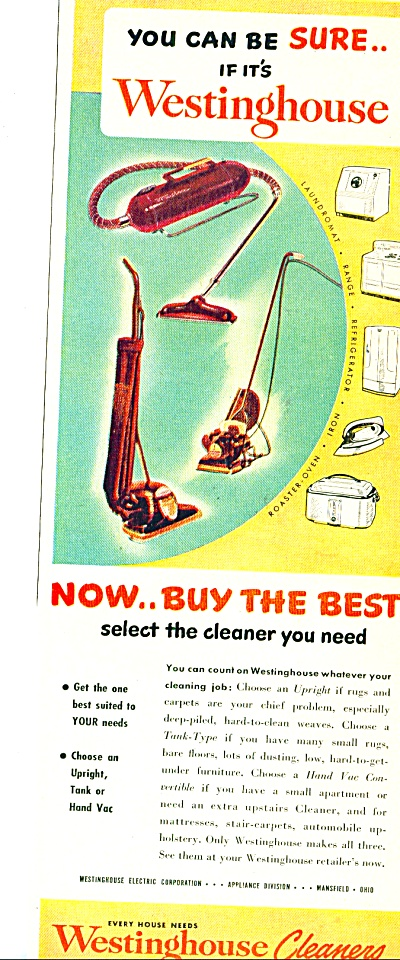 1949 -  Westinghouse cleaners ad (Image1)