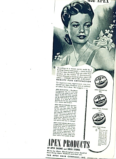 1950 -  Apex products ad (Image1)