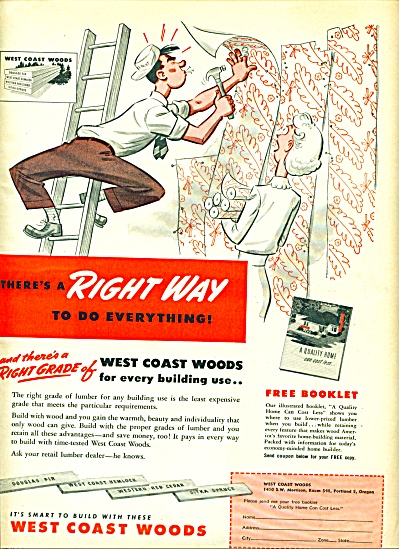 1949 -  West Coast woods ad (Image1)