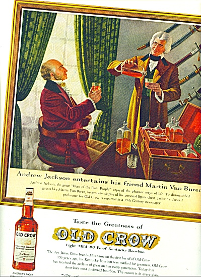 1961 -  Old Crow Whiskey ad (Image1)