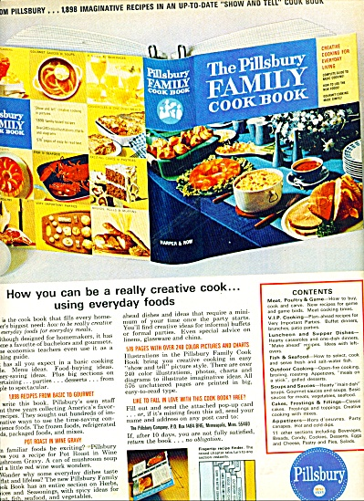 Pillsbury cook book ad 1965 (Image1)