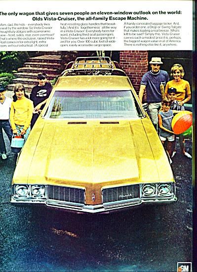 1969 -  Oldsmobile automobile ad (Image1)