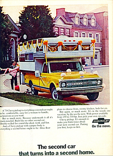 1969 - Chevrolet Pickup Truck Ad