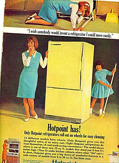 1964 -  Hotpoint refrigerator ad (Image1)