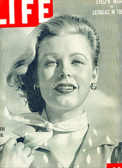 1949 - COVER PHOTO  ARLENE DAHL (Image1)