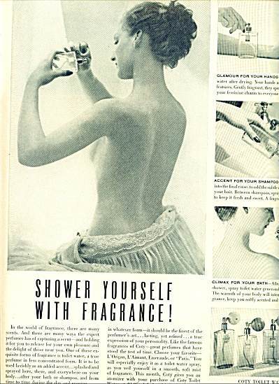 1949 -  Coty toilet water ad (Image1)