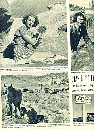 1949 -  Utah's Hollywood - ARLENE DAHL (Image1)