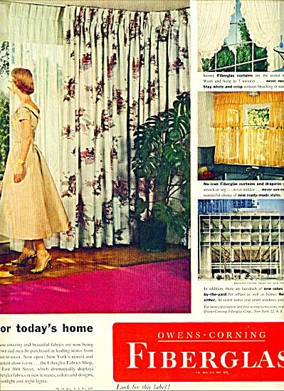 1955 -  Owens Corning fiberglas ads (Image1)