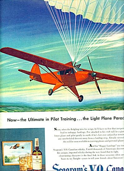 1947 - Seagrams V.O.Canadian ad (Image1)
