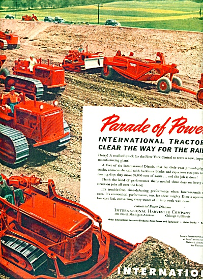 1947 - International Industrial power ad (Image1)