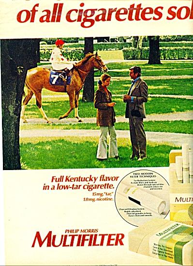 1971 -  Philip Morris Multifilter ad (Image1)