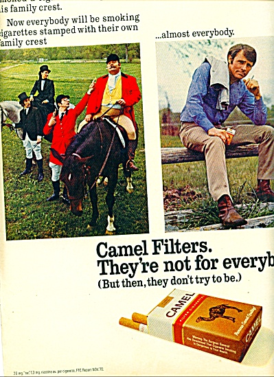 1971 -  Camel Filters ad (Image1)
